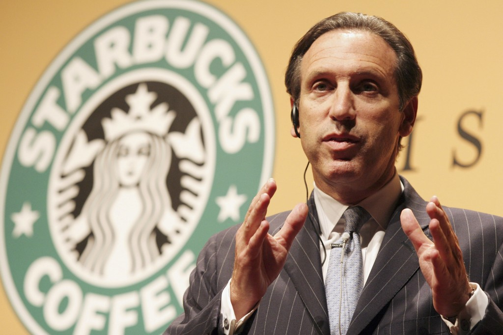 Starbucks CEO, Howard Schultz, gets up at 4:30 every morning to walk his three dogs and work out.Around 5:45 AM he makes coffee for his wife and himself. He gets to the office by 6 AM.