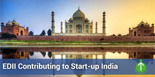 EDII Contributing to Start-up India