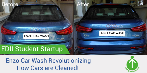EDII-Student-Startup-Enzo-Daily-Car-Wash-Ahmedabad
