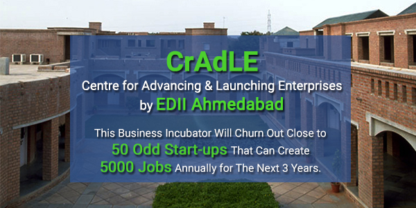 EDII Launches CrAdLE to Support New Enterprises